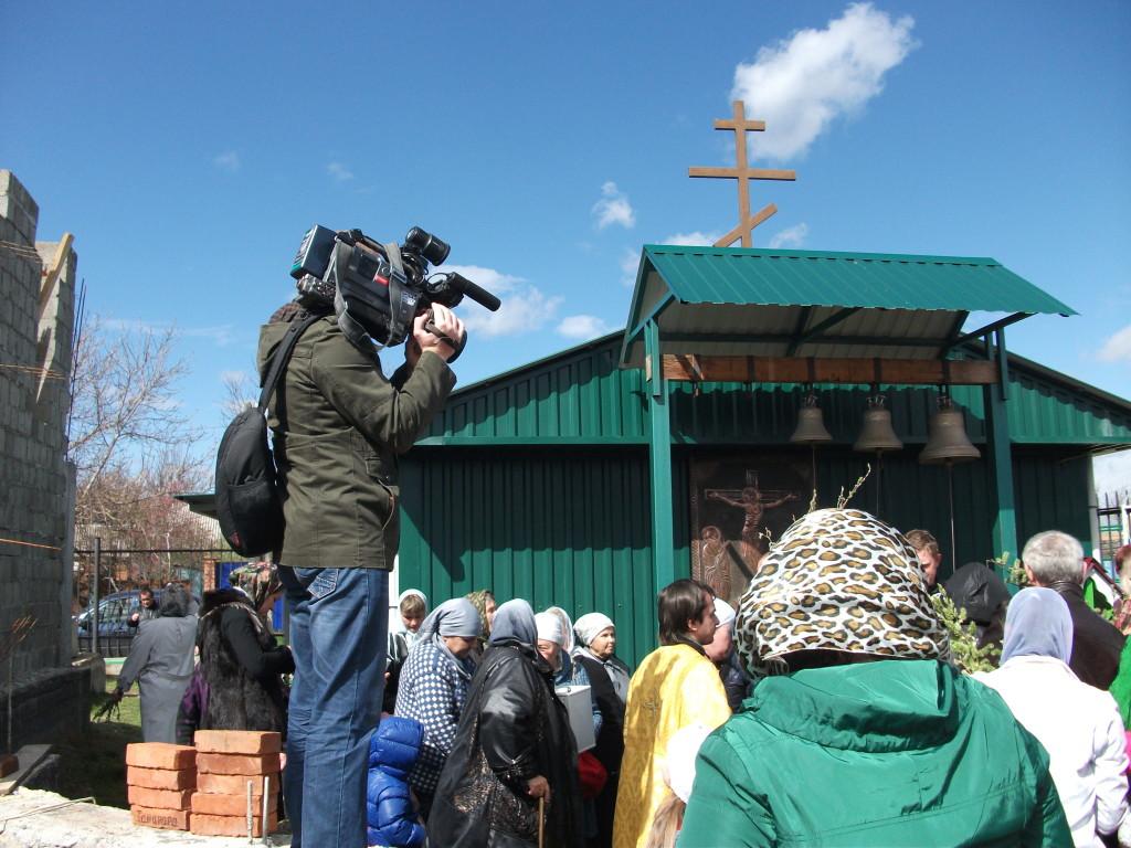 Репортаж о храме Святой Благоверной Тамары царицы Грузинской